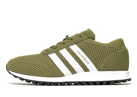 Adidas Los Angeles Trefoil White Originals lyst adidas originals los angeles ck in green for