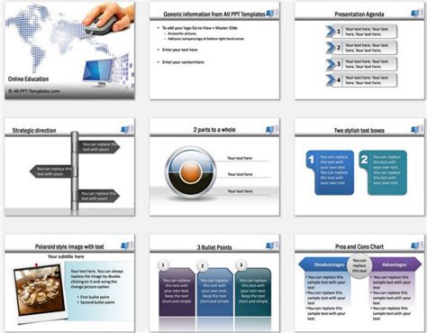 powerpoint online education template