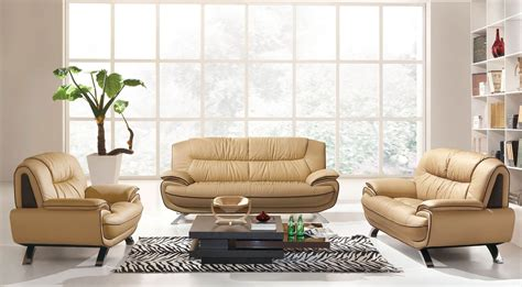 Modern Sofa Set 405 Leather Sofa Set
