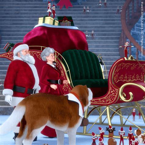 elf pets santas st bernards save christmas dvd santa