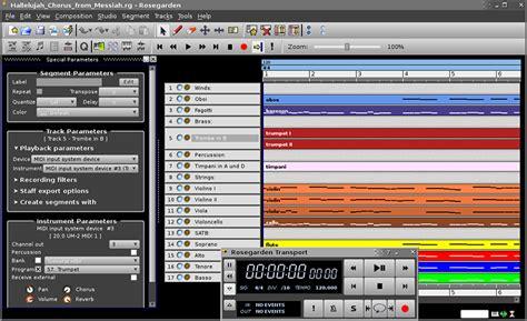 bank software kostenlos rosegarden kostenlose digital audio workstation daw