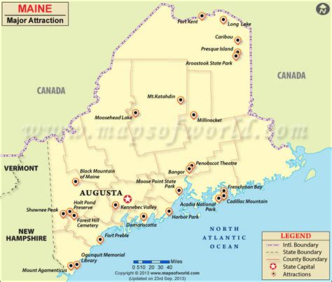 where is maine usa on map places to visit in maine map of maine attractions