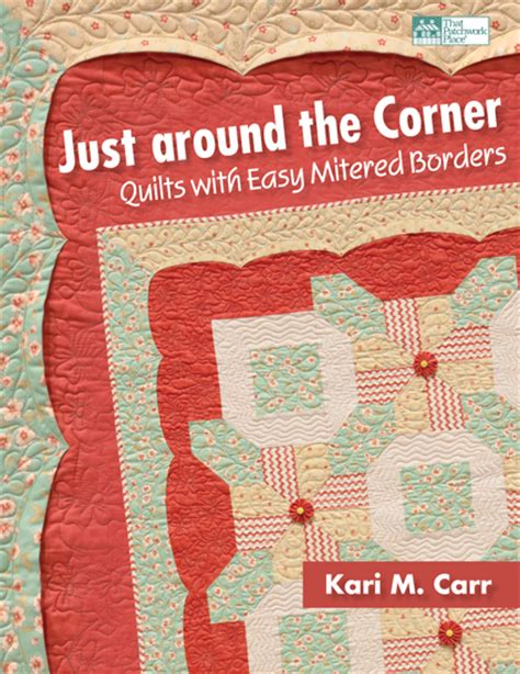 mitered corners books martingale just around the corner print version ebook