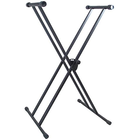 world tour single x keyboard stand deluxe bench package mirage double braced x type keyboard stand walmart com