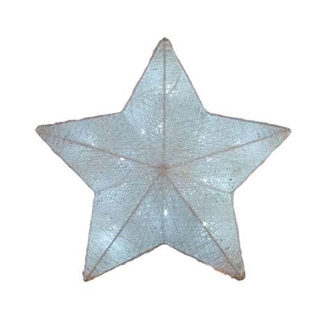 home accents holiday 12 5 in battery operated white star