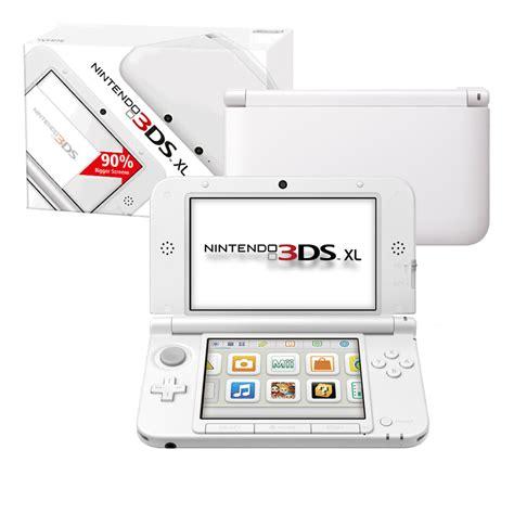 Kaset Nintendo 3ds White nintendo 3ds xl console white