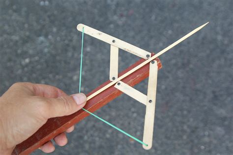 how to make a mini 3 ways to make a mini crossbow wikihow