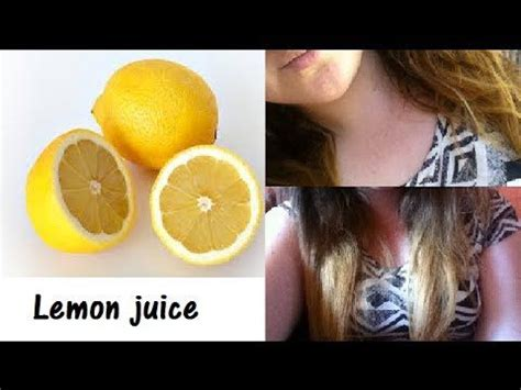 posistives of lightening dye how to lighten your hair with lemon juice youtube home