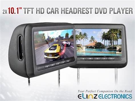 Car Headrest 3 In 1 10 1 quot hd car monitor pillow hdmi dvd player car headrest