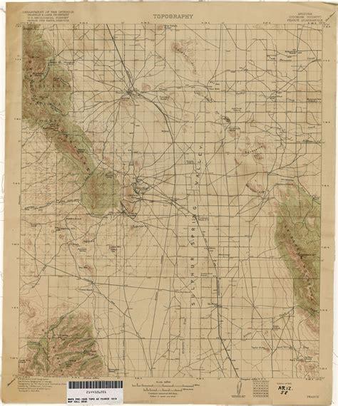 pearce arizona map arizona historical topographic maps perry casta 241 eda map