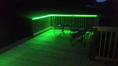 Led Deck Lighting Strips Led Lights On My Deck