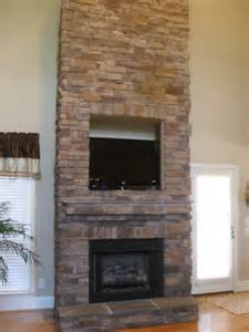 high resolution stacked fireplace surround 6