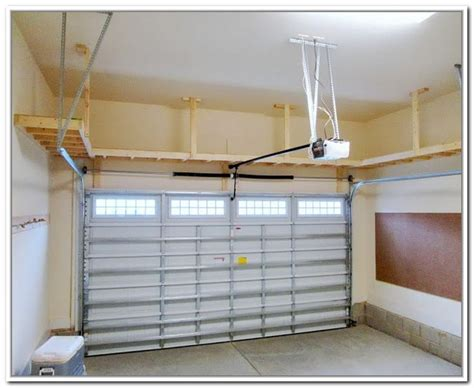 overhead garage door storage 17 best ideas about overhead garage storage on