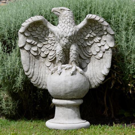 Dachshund Planter large eagle garden statue onefold uk