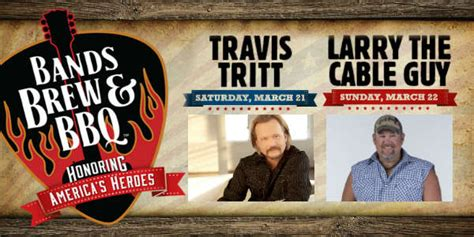 Backyard Bbq Larry The Cable Travis Tritt And Larry The Cable Headline Bands Brew