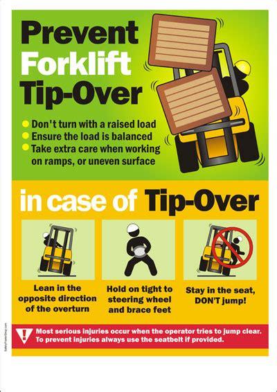 Home Kitchen Design Price forklift safety poster prevent forklift tip over