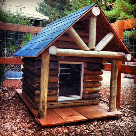 cabin dog house log cabin dog house log cabin chic pinterest