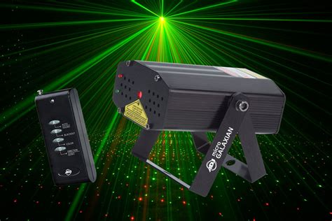 american dj micro galaxian laser special effects lighting american dj micro galaxian laser lighting red green