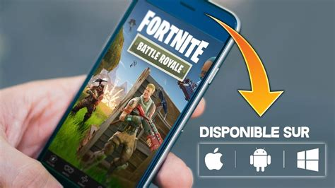 Will Android Get Fortnite by Appli Quot Fortnite Battle Royale Quot Sur Mobile Android Ios