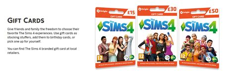 Sims 3 Gift Card - give the gift of sims gift cards the sims forums