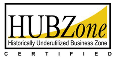 hubzone certification letter hubzone logo white