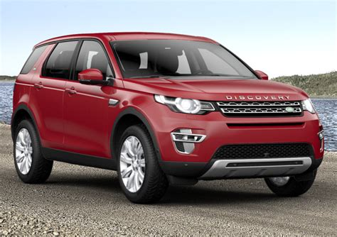 land rover discovery sport 2017 red land rover discovery sport 2017 couleurs colors