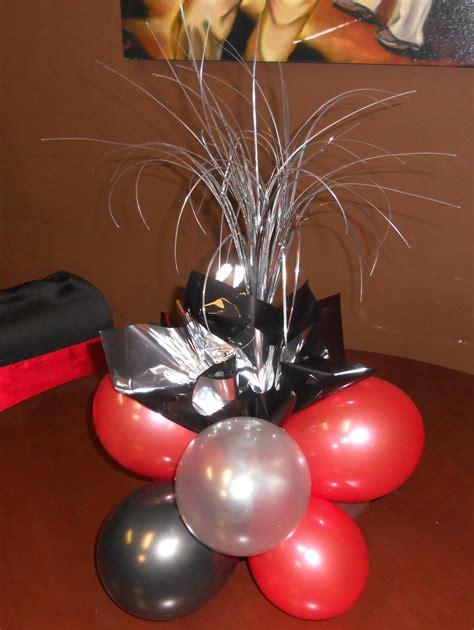 Balloon Table Centerpieces Photo Home Furniture Ideas Balloons Centerpieces For Tables