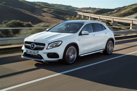 car mercedes 2017 mercedes gla 2017 facelift merc gets the mascara out by