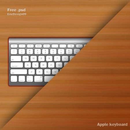 tutorial apple keyboard psd gratis teclado mac apple keyboard para editar en