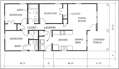 3 bedroom cabin floor plans 3 bedroom cabin floor plans 28 images 43 x32 3 bedroom 2 baths cabin floor plans small 2