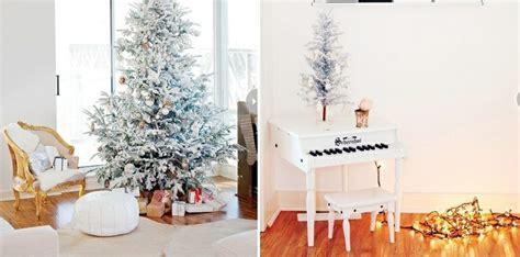 como decorar un arbol de navidad con nieve artificial arbol de navidad 50 ideas preciosas para decorar