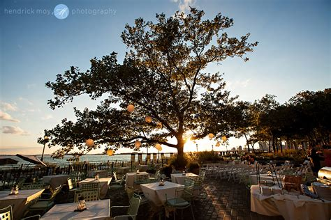 battery gardens wedding images