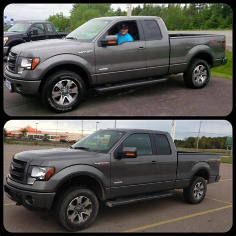 2013 ford f150 leveling kit before and after xena the 2013 f150 fx4