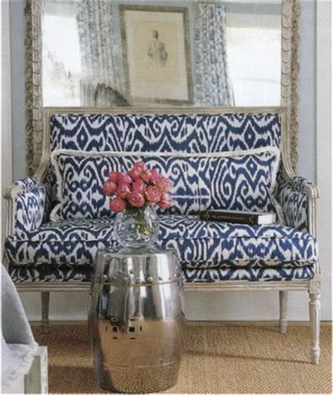 ikat settee barrie briggs spang ikat trend or classic