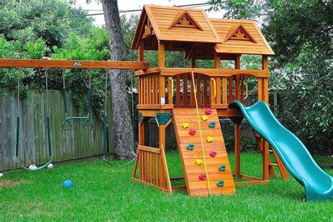 small backyard playground plans design idea and