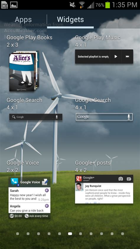 add home screen apps  widgets   samsung