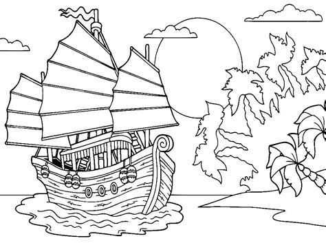 coloring pages of water transport water transport coloring pages download and print for free