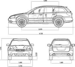 Subaru Legacy Dimensions Subaru Outback Length 2017 Ototrends Net