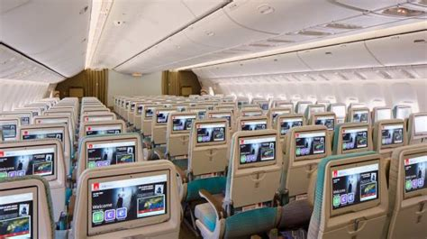 emirates business class cabin exclusive look at new emirates class cabin