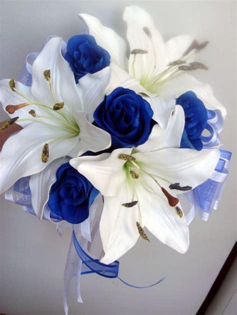 royal blue and ivory wedding decorations royal blue and white wedding decorations wedding
