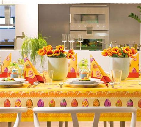 15 Easter Ideas, Spring Holiday Table Decoration with