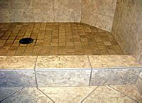 Shower Curb Cap by Bullnose Tile Options American Bullnose Company