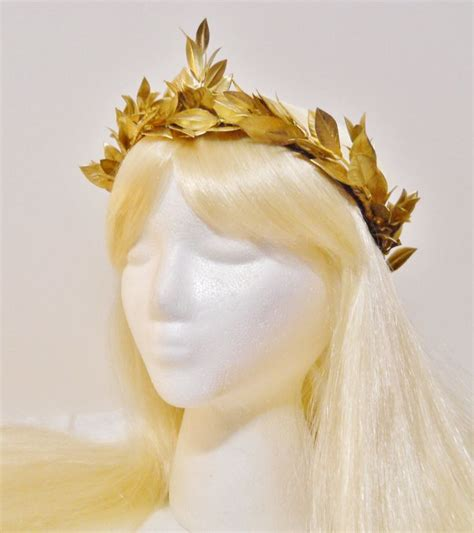 hair st es roman goddesses gold leaf crown for a greek roman goddess gold wreath