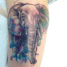 watercolor tattoo quebec best 25 colorful elephant ideas on