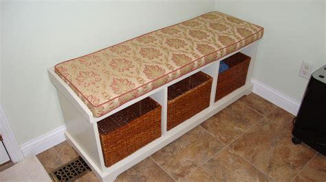 cushion benches indoor window bench cushions pollera org