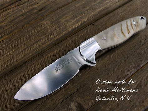 Handmade Knife Makers - 100 custom kitchen knives custom made