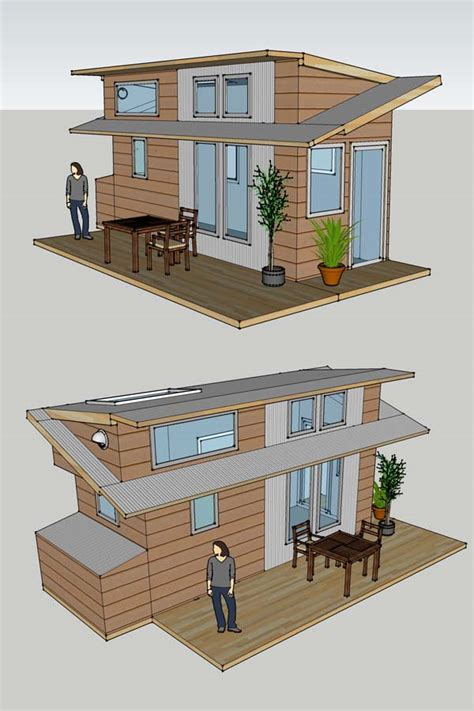 Small Houses Projects | alek s tiny house project