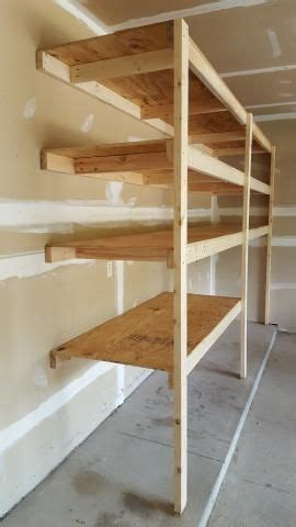 easy garage shelving   garage cupboards