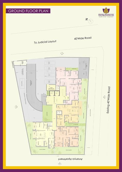 judicial layout plan sterling estates