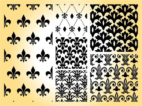 pattern royal vector the gallery for gt vintage floral pattern black and white